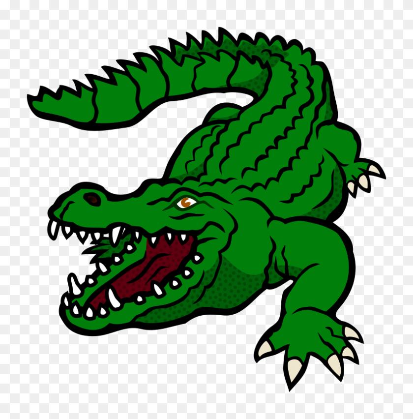 Clipart - Free Alligator Clipart