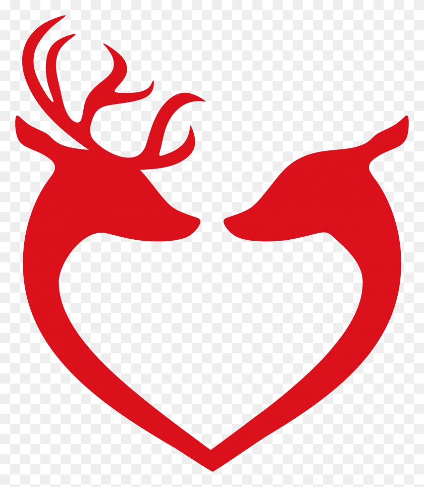 Clipart - Heart Silhouette Clip Art