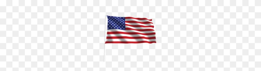 Free American Flag Vector Waving - Waving American Flag Clip