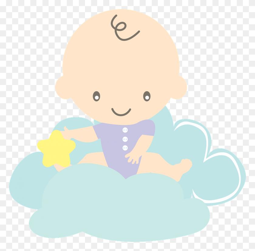 Clipart Baby, Baby Shawer, Baby Boy - Yoyo Clipart