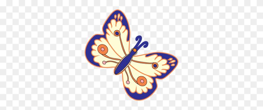 Clipart Butterflies Butterflies Clipart - Orange Butterfly Clipart