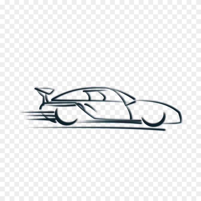 Clipart Car Silhouette - Car Silhouette PNG