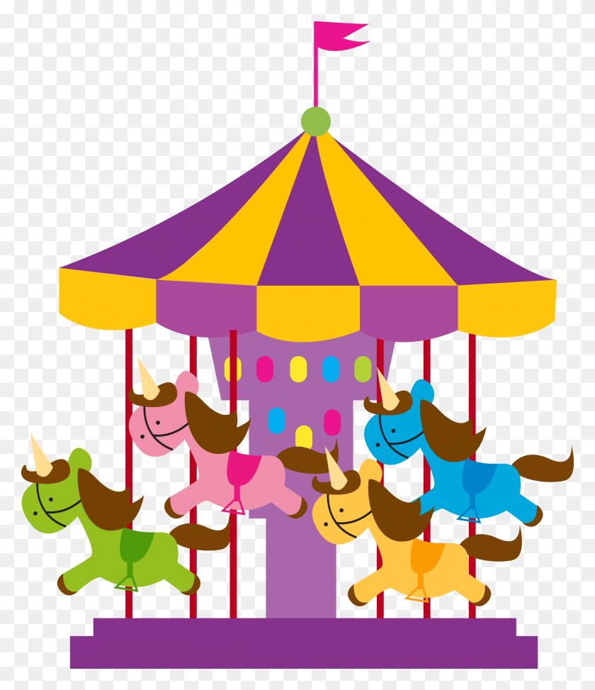 Clipart Carousel, Clip Art - Roller Coaster Clipart