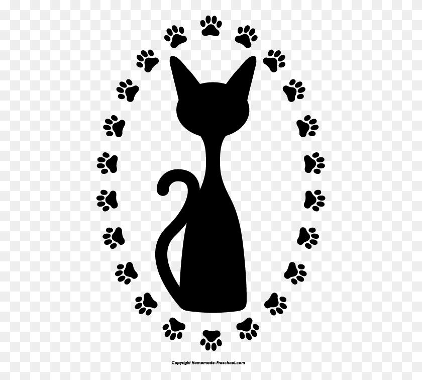 456x696 Clipart Cat Paw Print Clip Art Images - Dog Paw Print Clip Art