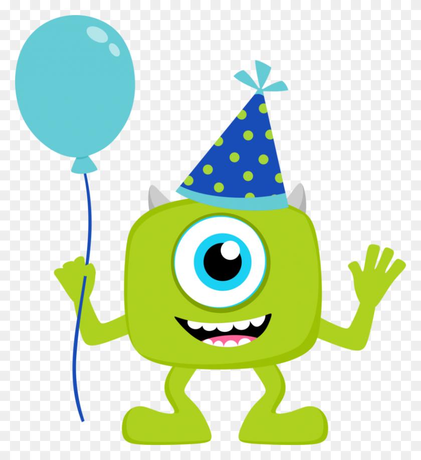 Clipart De Monster Party Isabel Monster - Monster Inc PNG