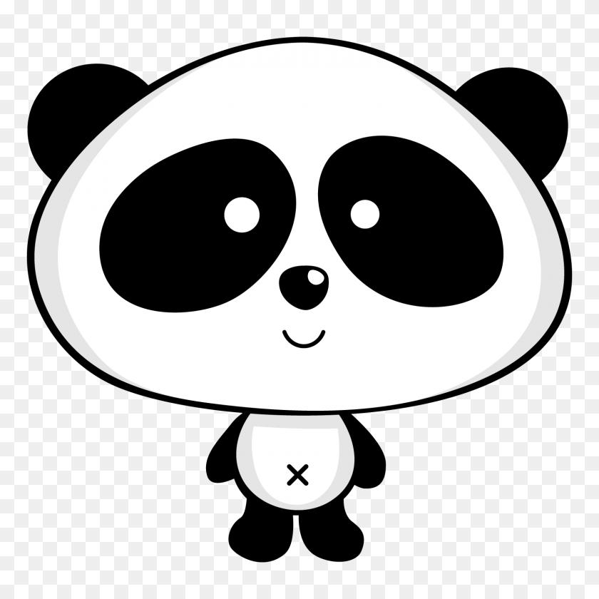 Clipart De Osos Panda Pandas Panda, Patrones - Baby Panda Clipart