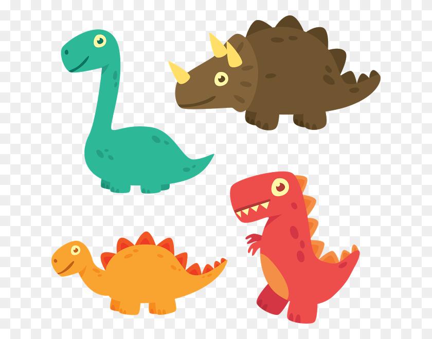 Clipart Dinossauros Party Time! Dinosaurios - Baby Dinosaur Clipart