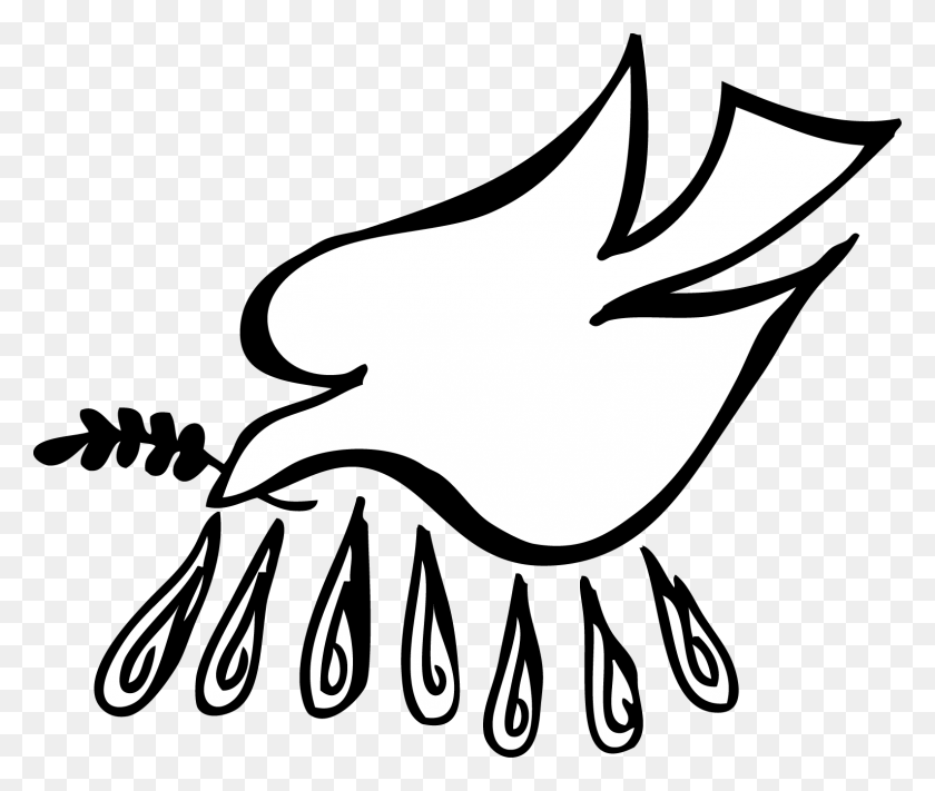 Clipart Doves Holy Spirit Collection - Mama Bear Clipart Black And White