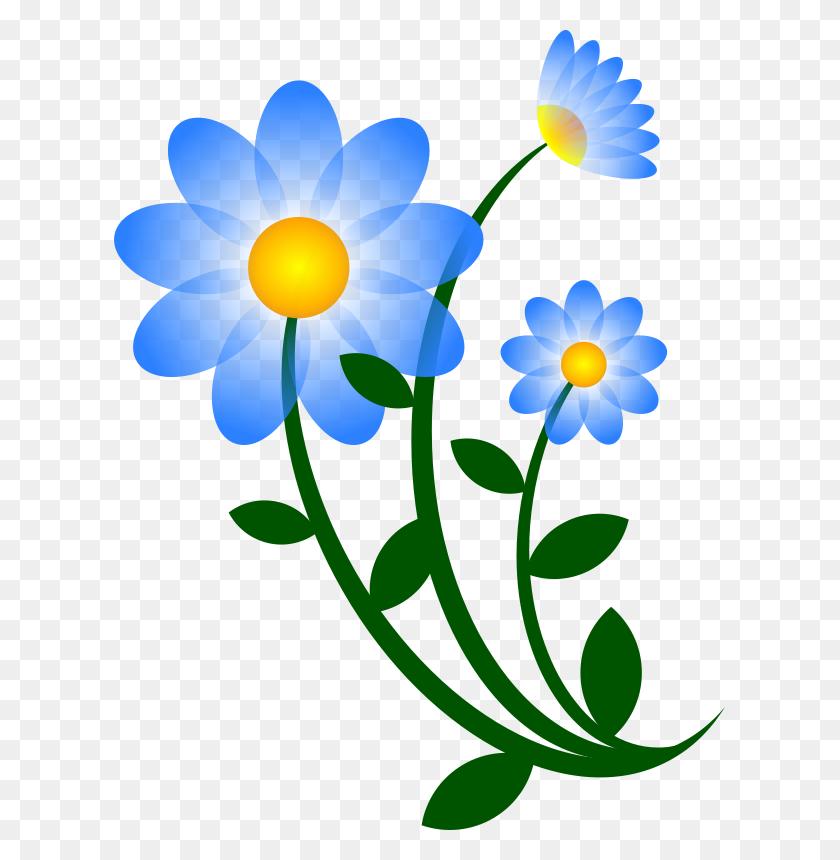Clipart Flower Blue Jasmine, Clipart Flower Blue Jasmine - Jasmine Flower Clipart