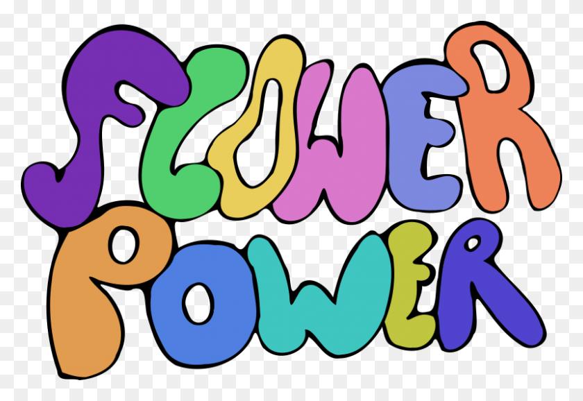Clipart Flower Power - 70s Clipart