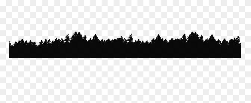 Clipart Forest Mountains, Clipart Forest Mountains Transparent - Bear Silhouette PNG