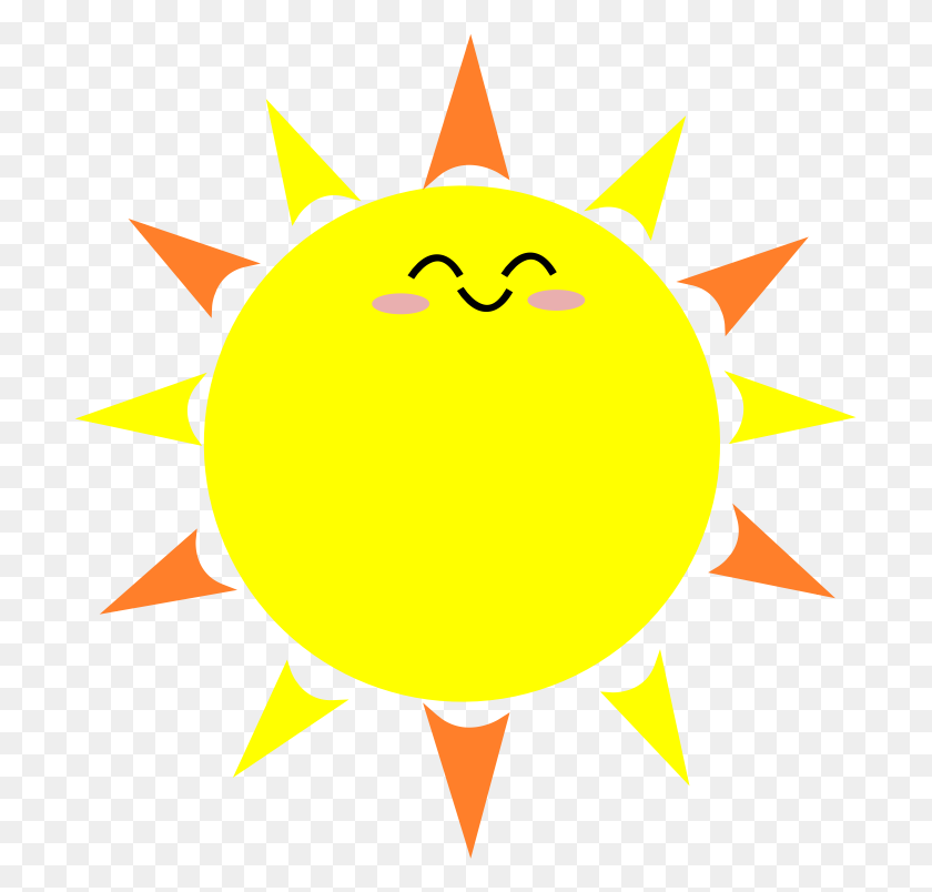 Clipart Happy Sun Png - Happy Sun PNG