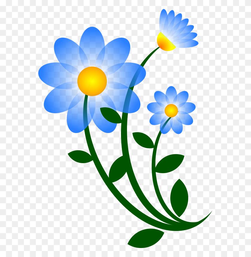 Clipart Hippie Psycodelic Flowers Daisies - Hippie Clipart