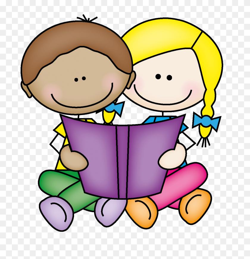 Clipart Kids Reading Books - Books Images Clip Art