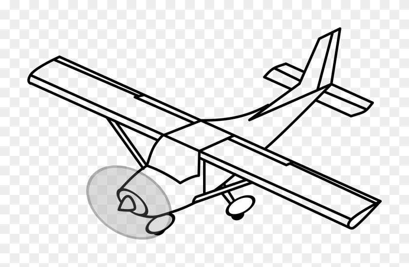 Clipart Model Airplane - Model Clipart