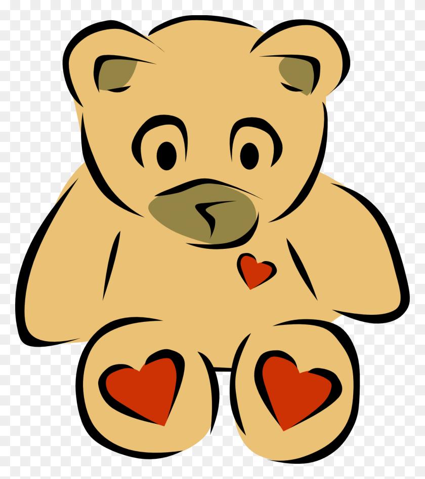 Clipart Of A Bear - Pooh Bear Clipart