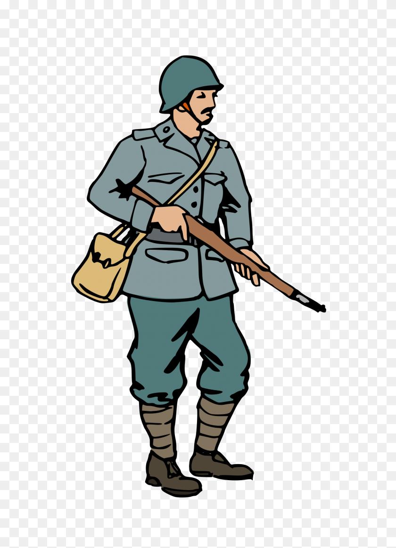 Clipart Of Man In Army Uniform Clip Art Images - Uniform Clipart