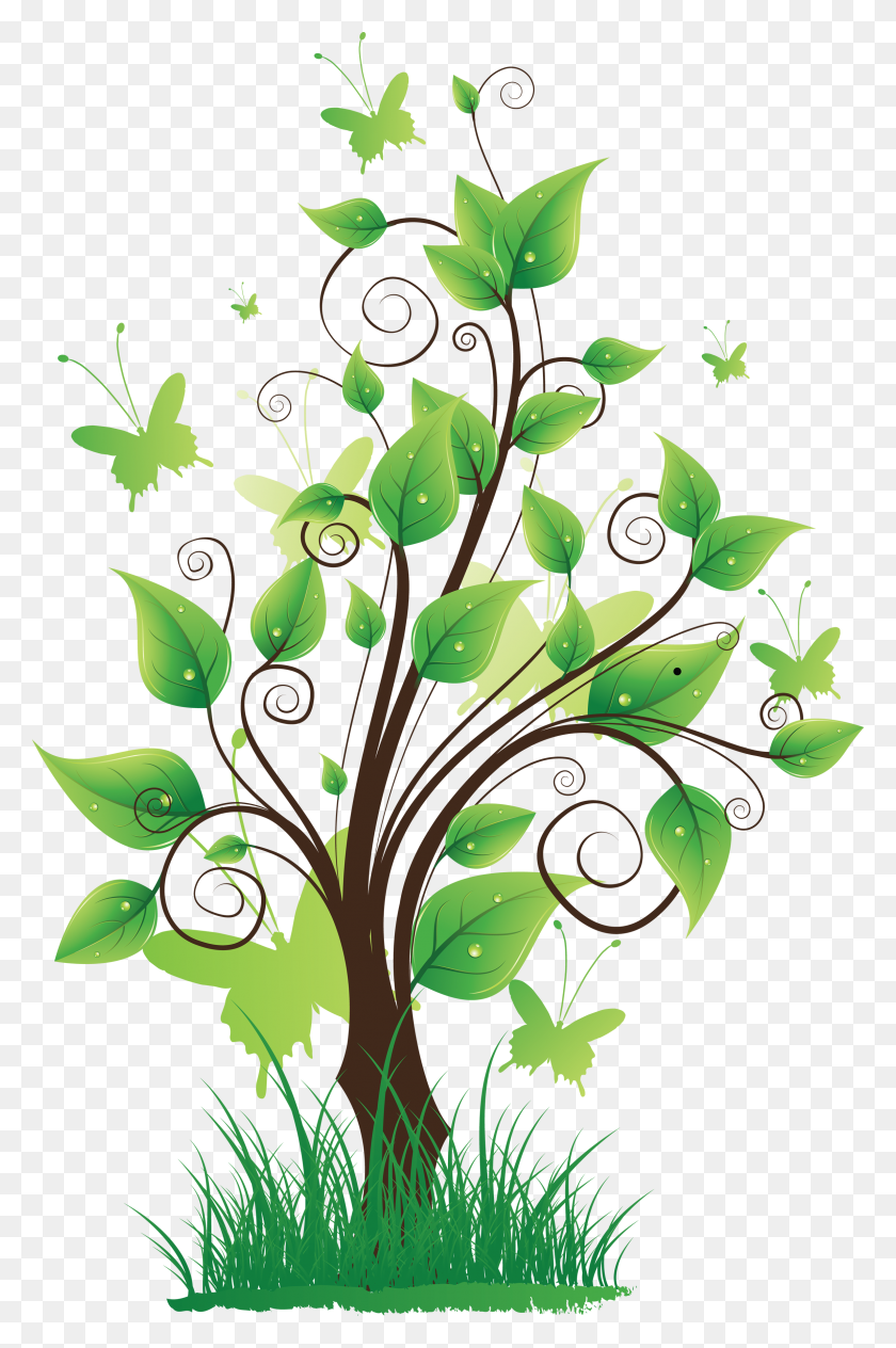 Clipart Pretty Nature Png - Nature Clipart