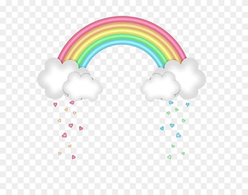 Clipart Rainbow, Rainbow - Pastel Rainbow Clipart