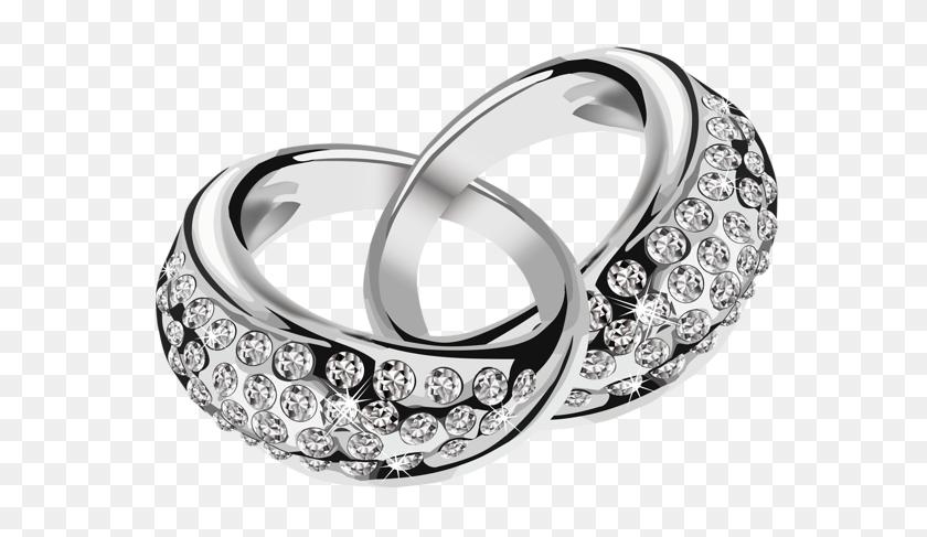 Clipart Rings, Silver Rings, Wedding - Ring Emoji PNG