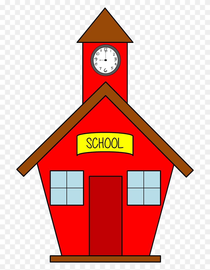 Clipart School House Clip Art Classroom Clipart School House - Red House Clipart