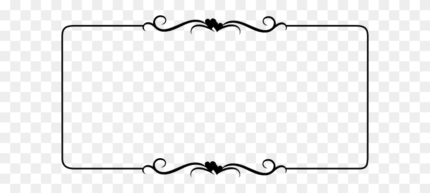 Clipart Scroll Border Clip Art Images - Pumpkin Border Clipart