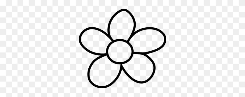Clipart Spring Flowers Black And White - Spring Flowers Black And White Clipart