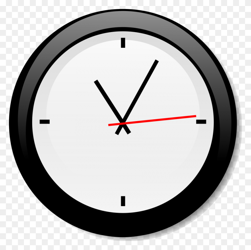 900x896 Clock Clip Art - Free Clock Clipart