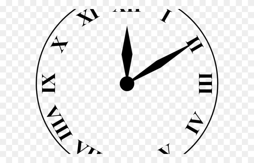 Clock Clipart Cat - Analog Clock Clipart