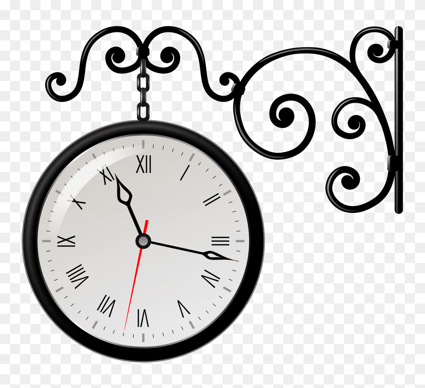 Clock Clipart Number - Number 8 Clipart