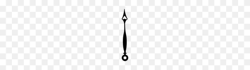 Clock Makers Brush Set - Clock Hand PNG