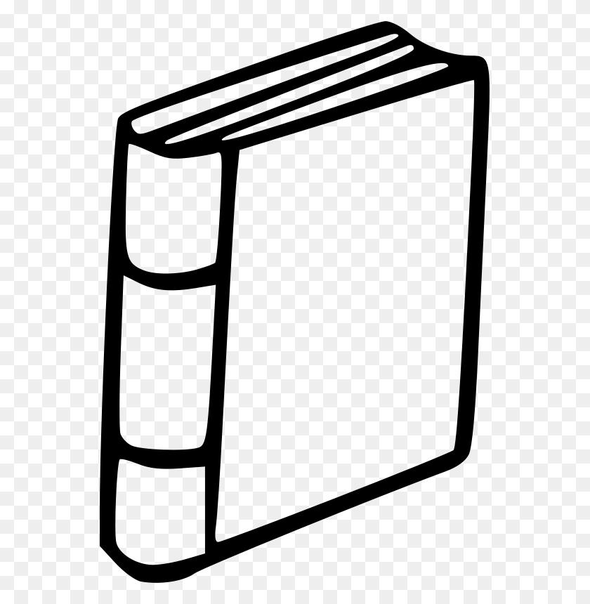 Closed Book Clip Art - Office Closed Clipart