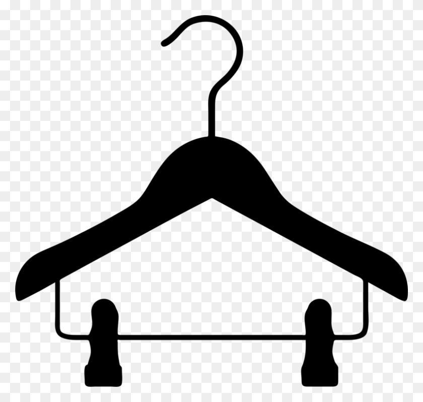 Clothes Hanger Clothing Clothes Horse Coat Hat Racks Free - Matador Clipart