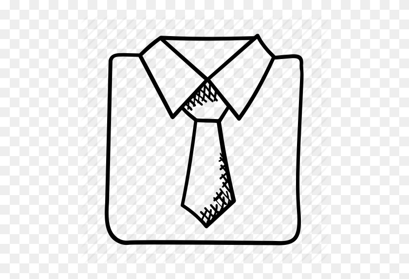 Clothing, Dress Code, Dress Shirt, Formal Dress, Tie Icon - Dress Shirt Clip Art
