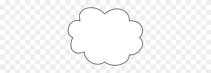 299x234 Cloud Clip Art - Free Cloud Clipart