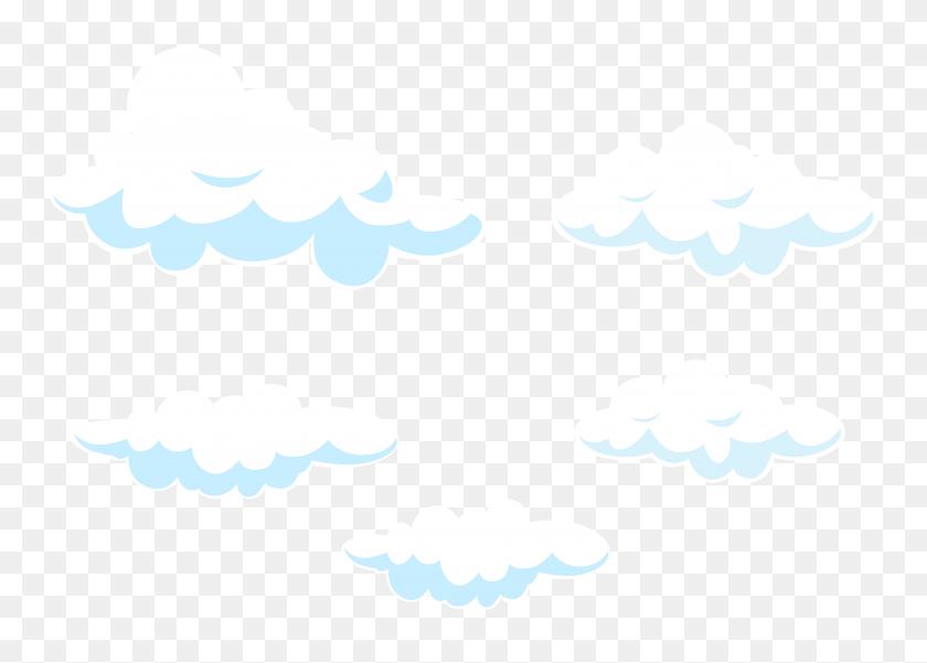 8000x5558 Cloud Clipart Png Clip Art Images - Moon Clipart Transparent Background