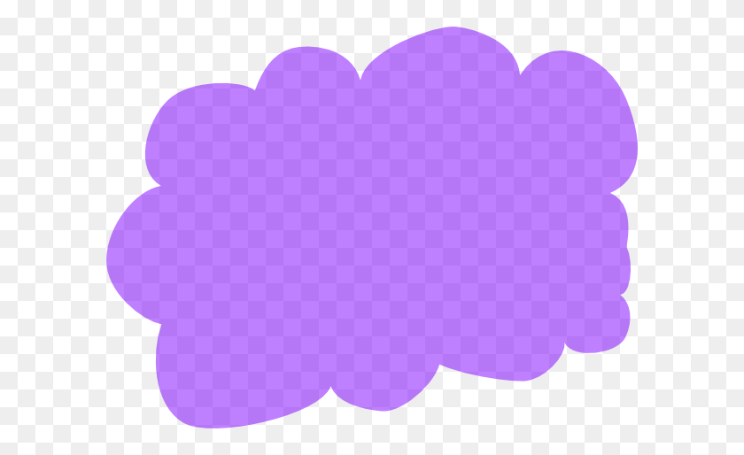 Cloud Clipart Purple - I Phone Clipart
