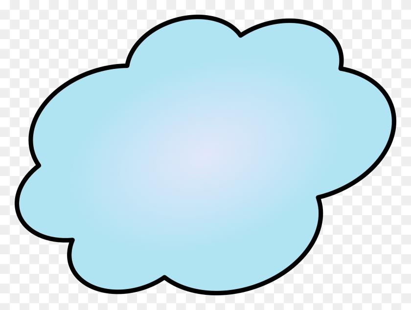 2400x1768 Cloud Drawing Clip Art - Free Cloud Clipart