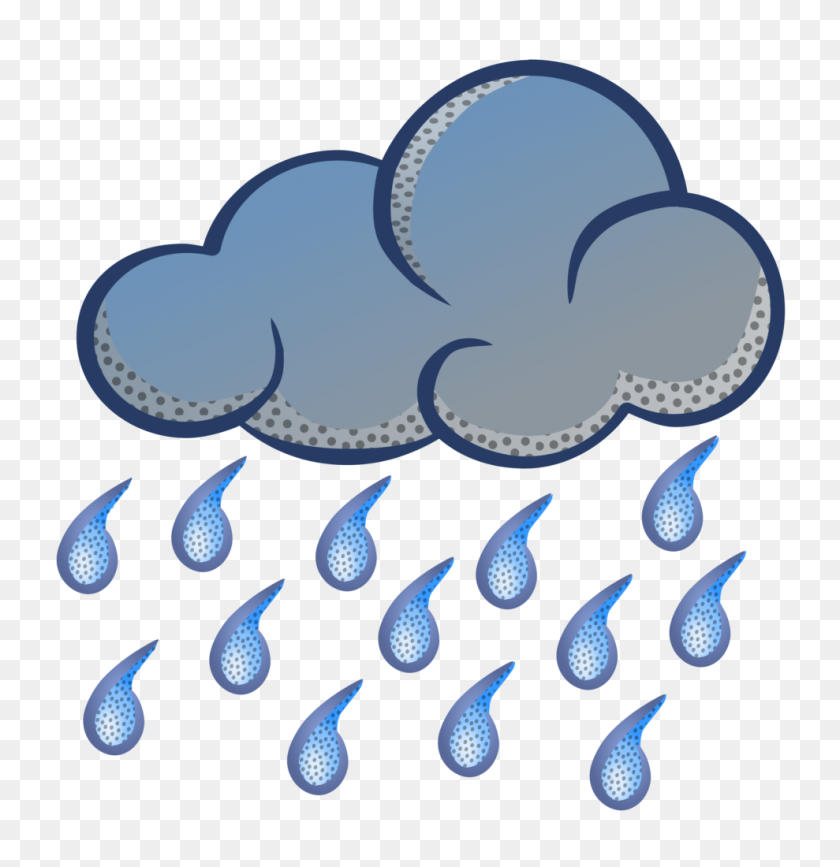 Cloud Rain Sky Wikimedia Commons Clip Art Rain Clipart Png Inside - Rain Clipart PNG
