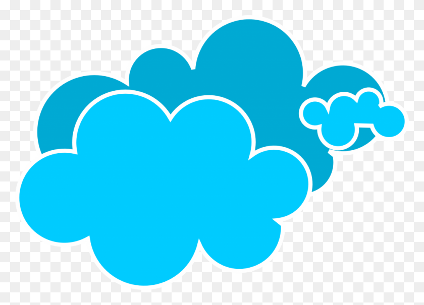 Clouds Clipart Clear Background - Sky Background Clipart