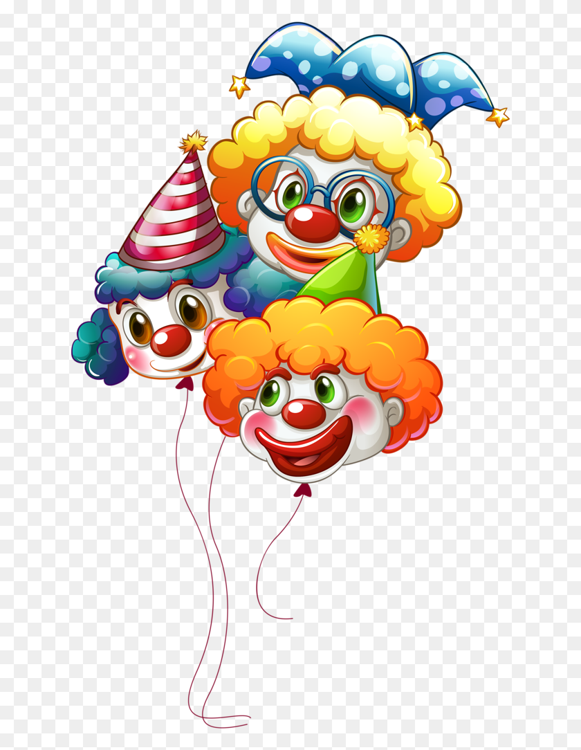 Clown Balloons Clipart Love It Clown Balloons - Clown Clipart