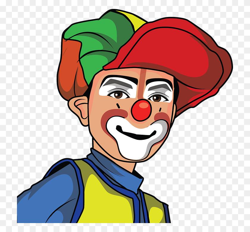 Clown Clipart Comic - Clown Face Clipart