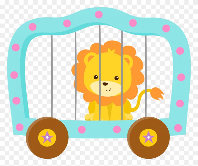 Clown Girls Clipart - Circus Lion Clipart