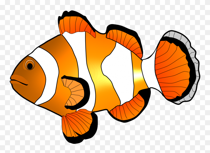 Clownfish Clipart Snowflake - Snowflakes Falling Clipart