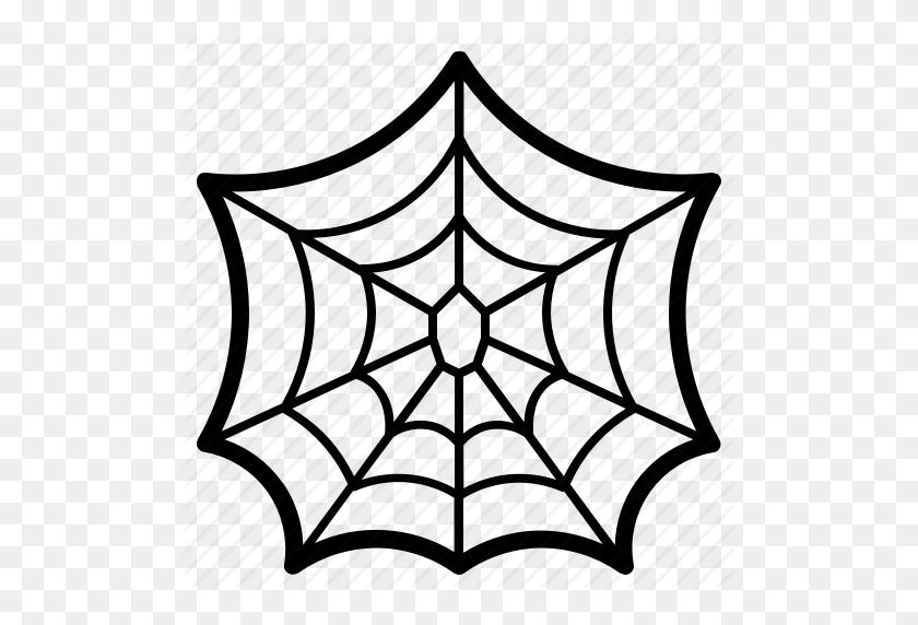 512x512 Cobweb, Halloween, Spider, Web Icon - Spider Web PNG