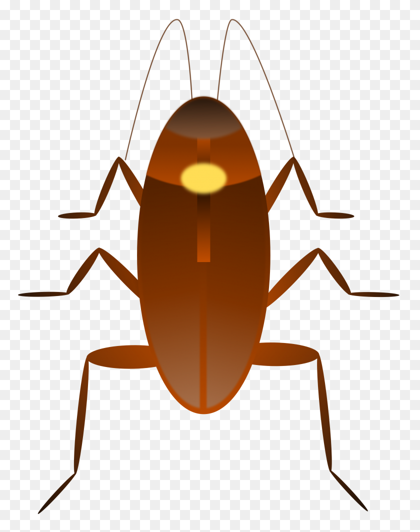 Cockroach Clip Art Free - Termite Clipart