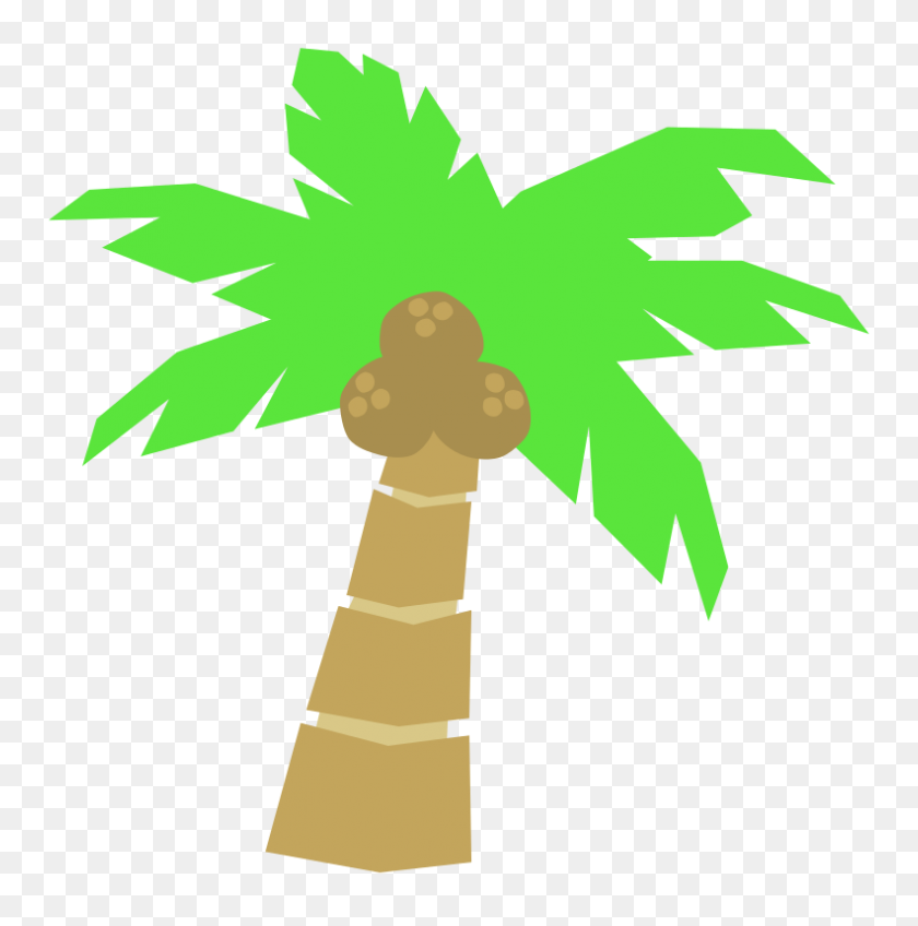 Coconut Clipart Palm Tree Coconut - Real Tree Clipart