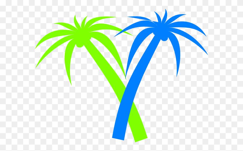 Coconut Palm Clip Arts Download - Palm Tree Clipart Transparent Background