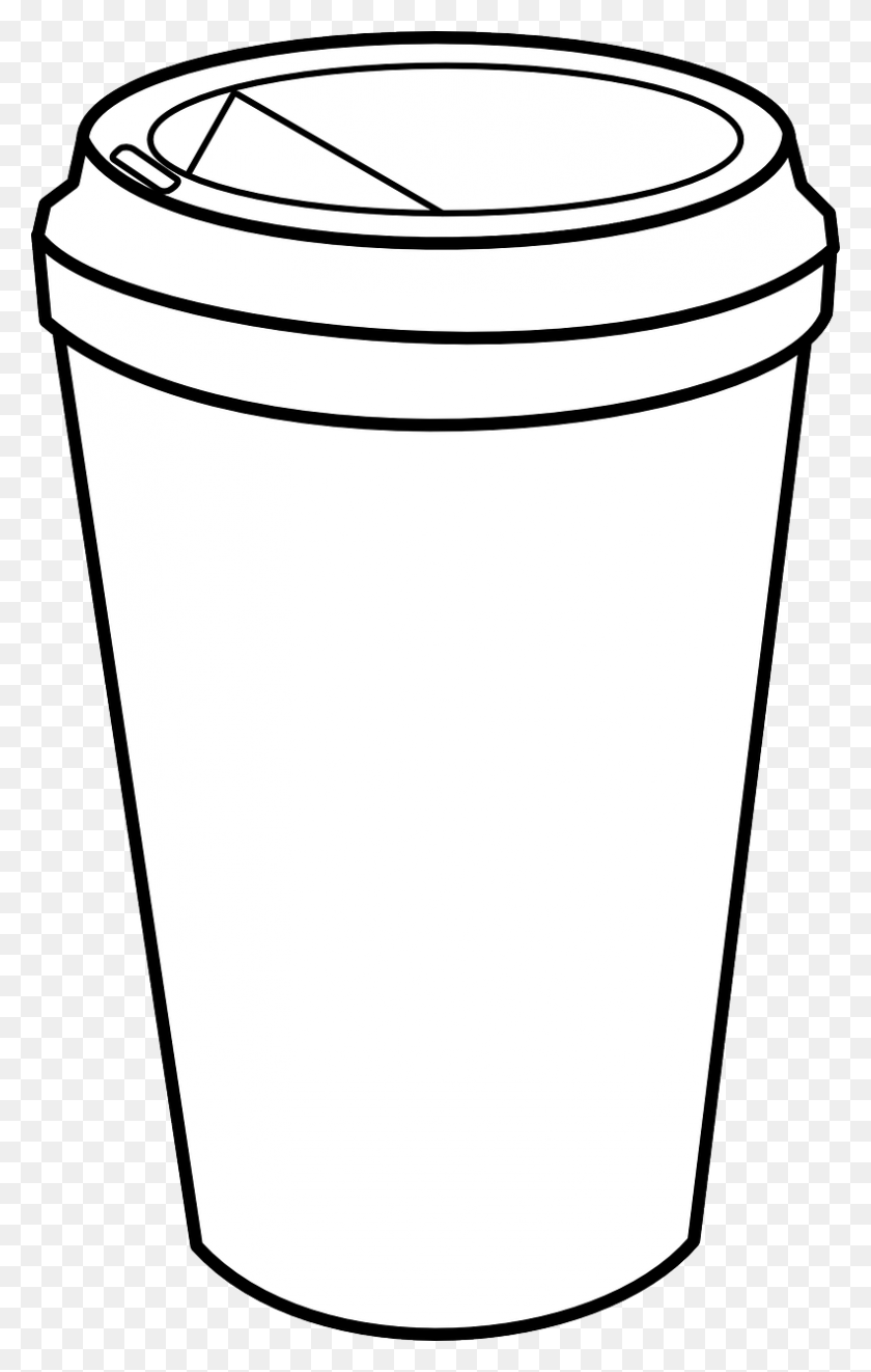 Coffee, Coffee Cup Takeaway Plastic Drink Beverage - Plastic Cup Clipart