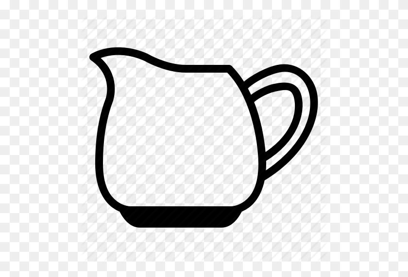 Coffee, Cream, Creamer, Jug, Milk, Sour Cream, Yumminky Icon - Sour Cream Clipart